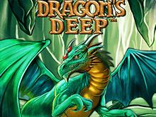 Играйте онлайн на деньги в автомат Dragon's Deep